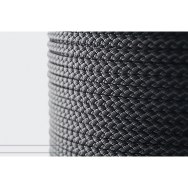 Black Polyester Braid 4mm - Spool