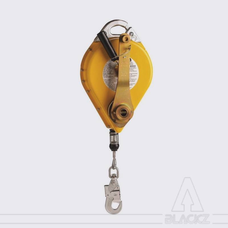 FALL ARRESTER AND RESCUE DEVICE PPE, CABLE 15M NS15