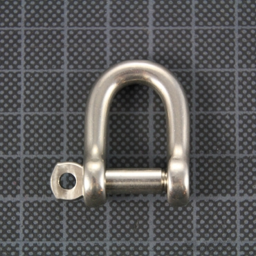 D Shackle self-locking 6mm