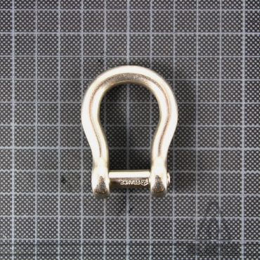 Bow Shackle allen head pin 6 mm