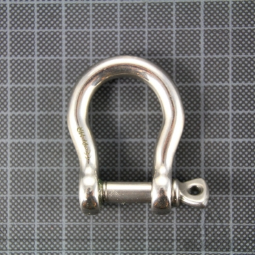 Bow Shackle self-locking 8 mm HR