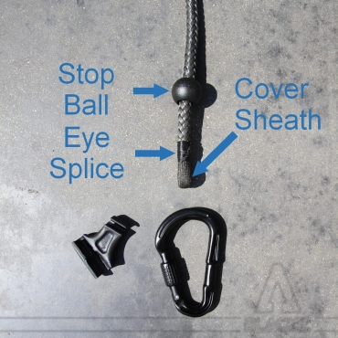 Eye Splice / Single braid + Cover Sheath