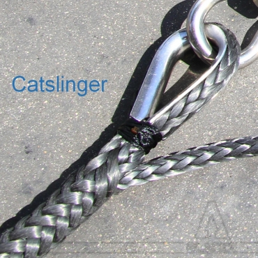 Catslinger / Single braid + Thimble
