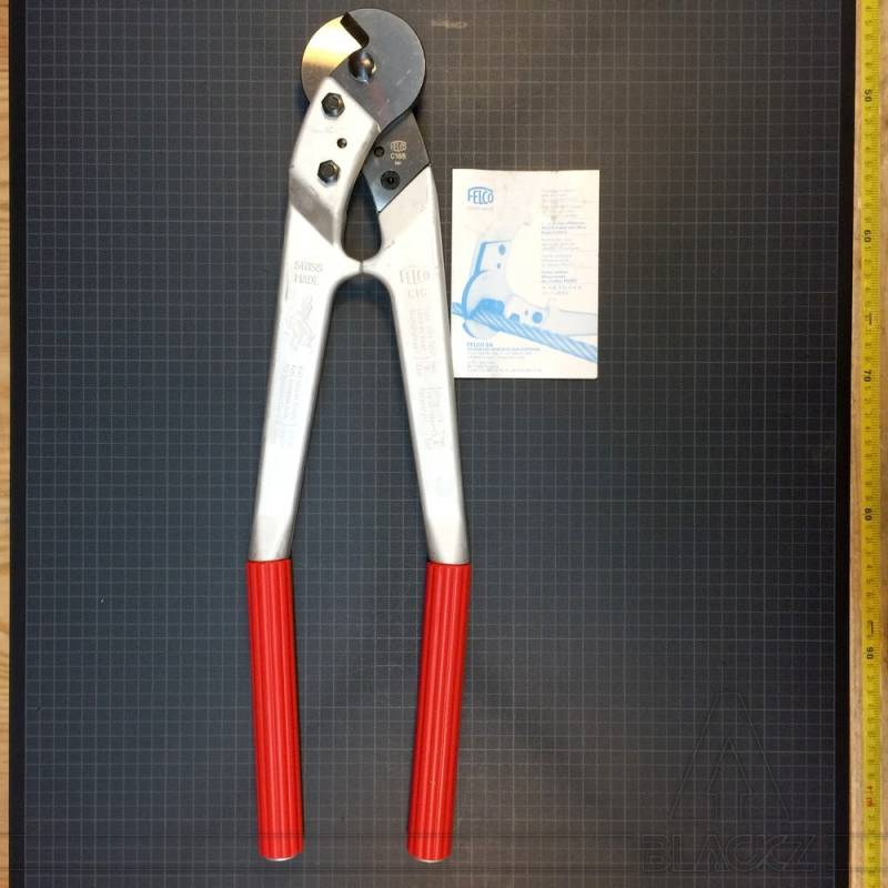 Steel cable cutter