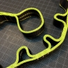 Multi-loop DAISY CHAIN sling - Flat strap 15 mm
