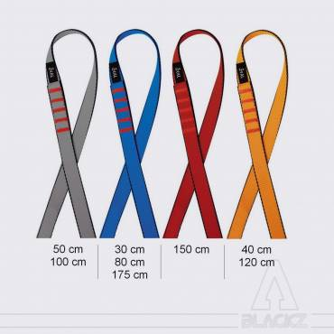 Open loop sling - Flat strap Color