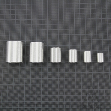 Swaging Oval Sleeves, Aluminium NICOPRESS - Pack 10