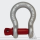 Black Standard Shackle 1 t