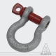 Black Standard Shackle 3,25 t