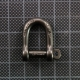 D Shackle self-locking 5mm