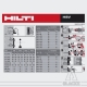 10 * HILTI HSV Goujons à Expansion