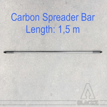 Carbon Spreader Bar 15 x 1000 mm