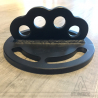 Round ground anchor plate - Small