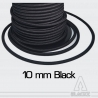 Black Elastic Shock Cord 10 mm