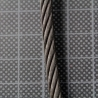 *** 5mm Black wire rope - Length 6.15m ***