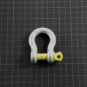 Bow Shackle 1 t yellow pin