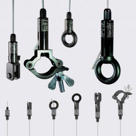 Wire rope grabs
