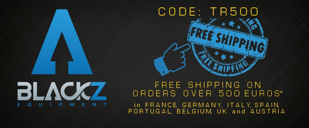 free shipping for order more than 500 € excl. taxes delivered in France, Belgium, Luxembourg, Germany, Austria, Italy, Spain, Portugal and UK